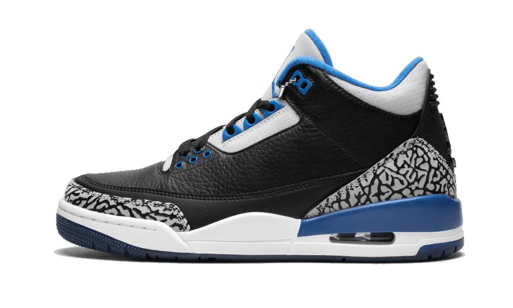 jordan retro 3 sport blue