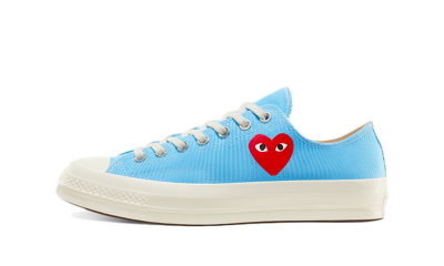 Converse Chuck Taylor All-Star 70s Ox Comme des Garcons Play Bright Blue
