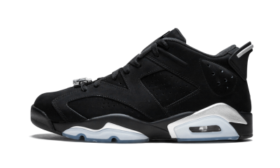 Air Jordan 6 Retro Low Metallic Silver