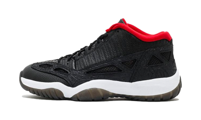 Jordan 11 Retro Low IE Black Varsity Red (2011)