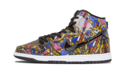 Dunk HI Pro SB Concepts Stained Glass