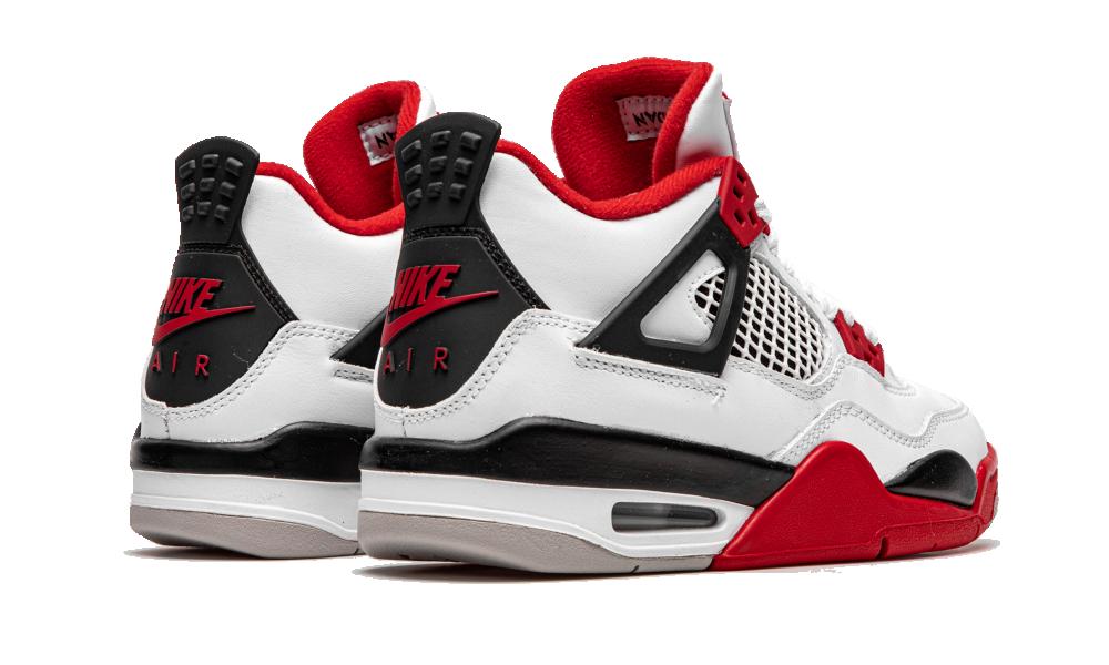 Air Jordan 4 Retro Fire Red 2020 (GS) - 408452-160 - Restocks