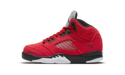 Air Jordan 5 Retro Raging Bulls Red 2021 (PS)