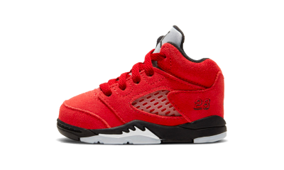 Air Jordan 5 Retro Raging Bulls Red 2021 (TD)