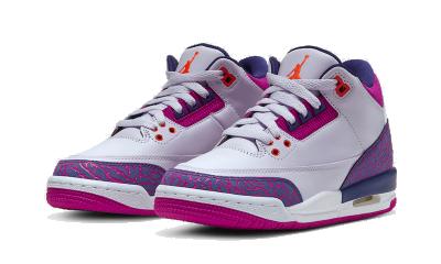 Air Jordan 3 Barely Grape (GS)