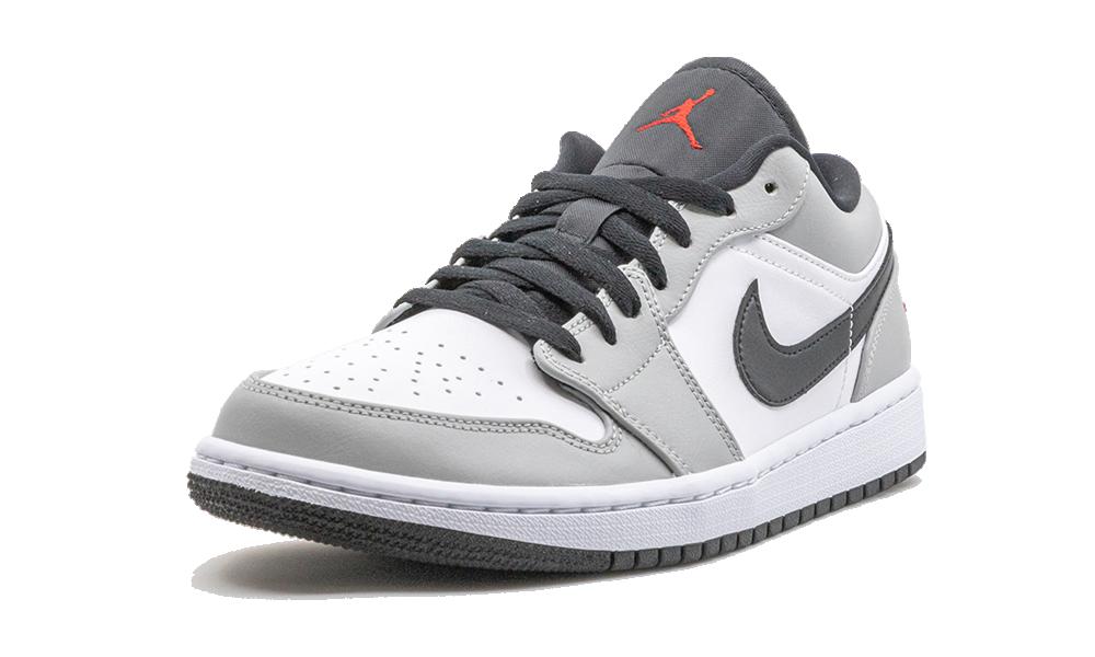 Air Jordan 1 Low Light Smoke Grey - 553558-030 - Restocks