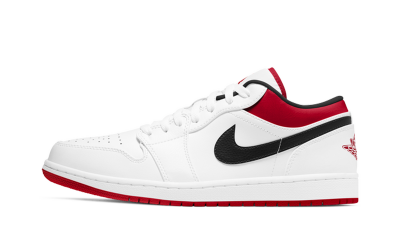 Air Jordan 1 Low 'University Red Black'