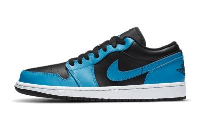 Jordan 1 Low Laser Blue Black