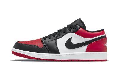 Air Jordan 1 Low Bred Toe