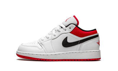 Air Jordan 1 Low 'University Red Black' (GS)