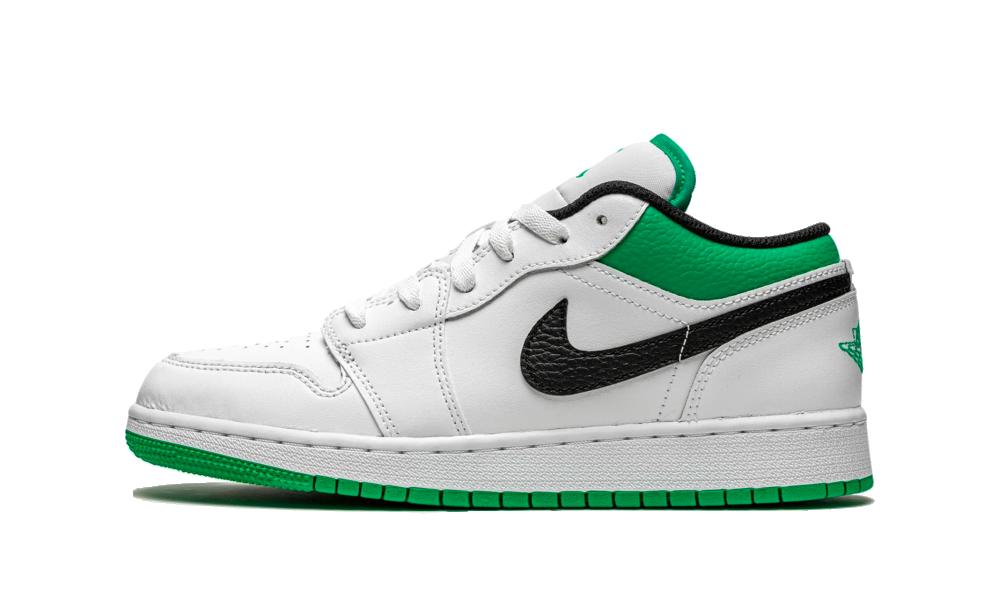 Air Jordan 1 Low White Stadium Green (GS) - 553560-129 - Restocks
