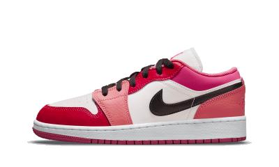 Air Jordan 1 Low Pink Red (GS)