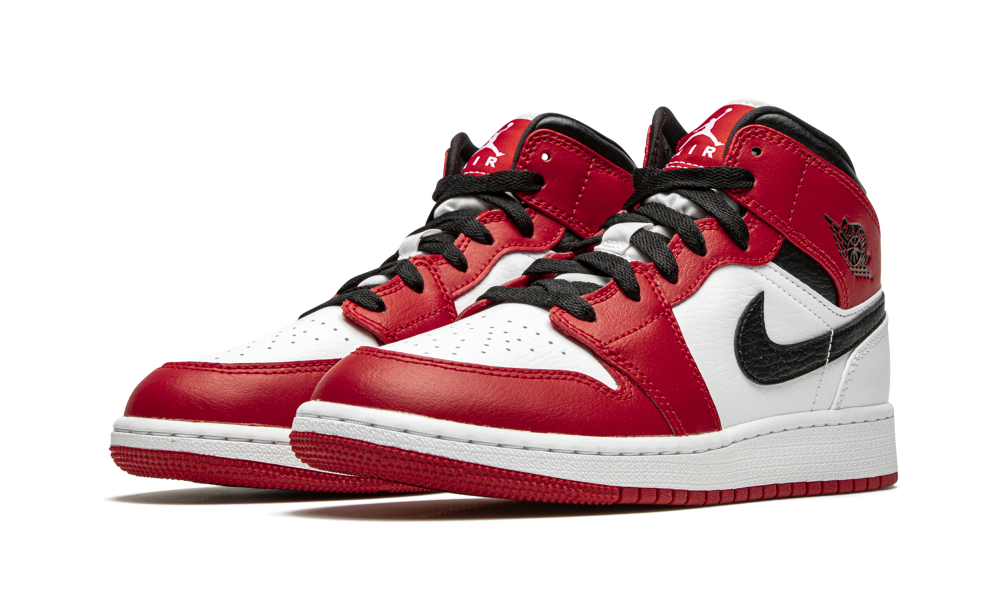 Jordan 1 Mid Chicago 2020 (GS) - 554275-173 - 554725-173 ...