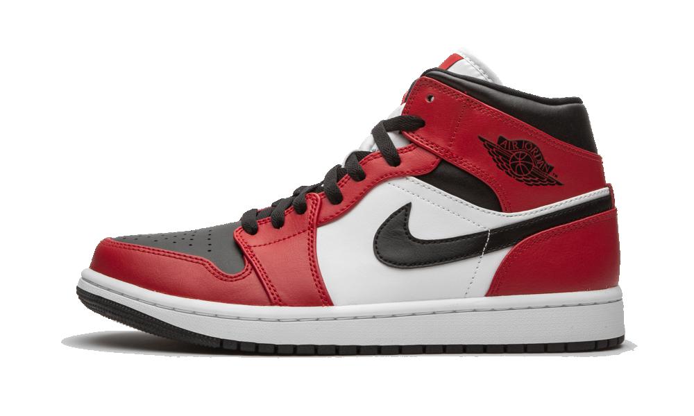 Jordan 1 Mid Chicago Toe - 554724-069 - Restocks