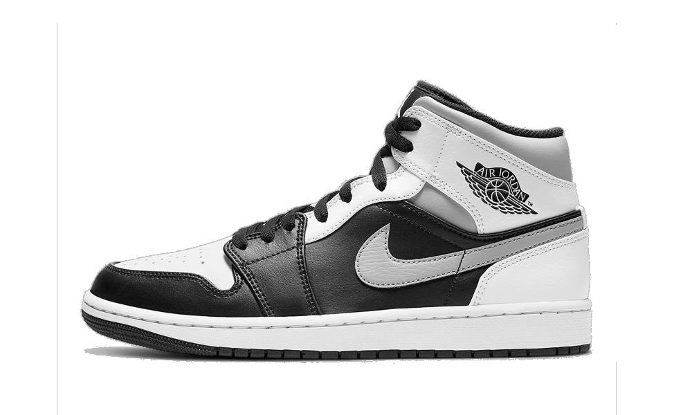 Air Jordan 1 Mid White Shadow - 554724-073 - Restocks