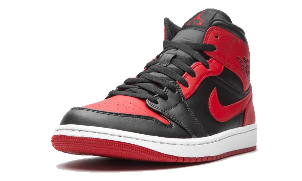 Air Jordan 1 Mid Banned (2020) - 554724-074 - Restocks