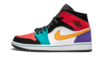 Air Jordan 1 Mid Multicolor