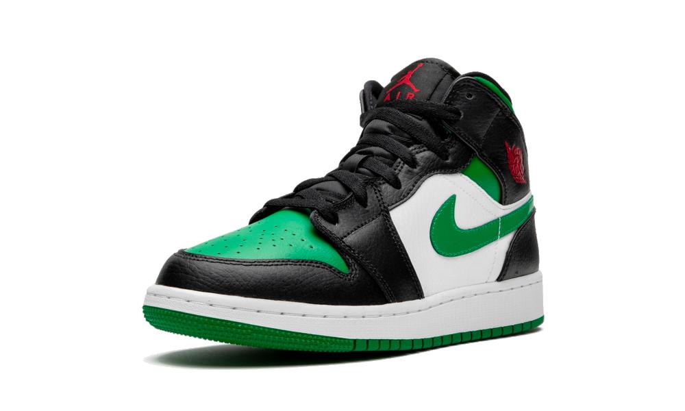 Air Jordan 1 Mid Green Toe (GS) - 554725-067 - Restocks