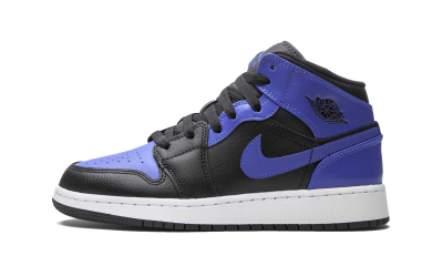 Air Jordan 1 Mid Hyper Royal (GS)