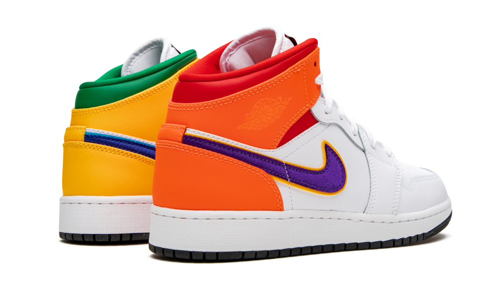 Jordan 1 Mid Alternate Multi-Color (GS) - 554725-128 - Restocks