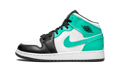 Air Jordan 1 Mid Igloo Island Green (GS)