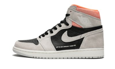 Air Jordan 1 Retro High OG Neutral Grey/Hyper Crimson