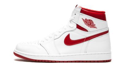 Air Jordan 1 Retro High OG Metallic Red