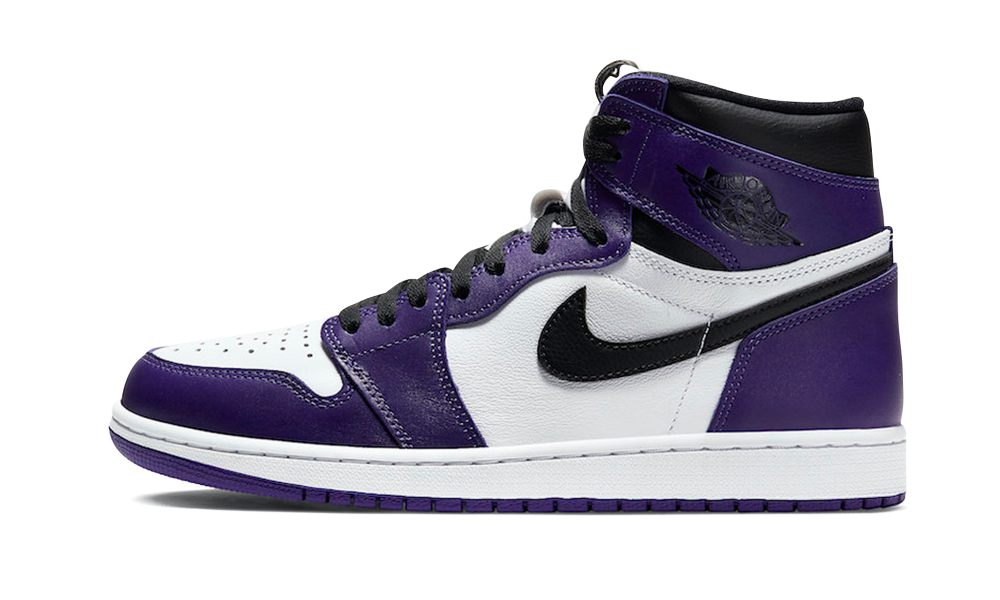 Jordan 1 High Court Purple White (2020) - 555088-500 - Restocks