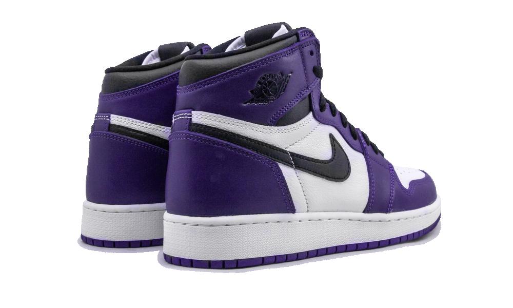 Air Jordan 1 Retro High Court Purple White (GS) - 575441-500 ...