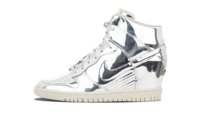 Wmns Dunk Sky Hi SP Liquid Silver