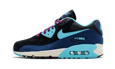 Air Max 90 LTHR Midnight Navy  (W)
