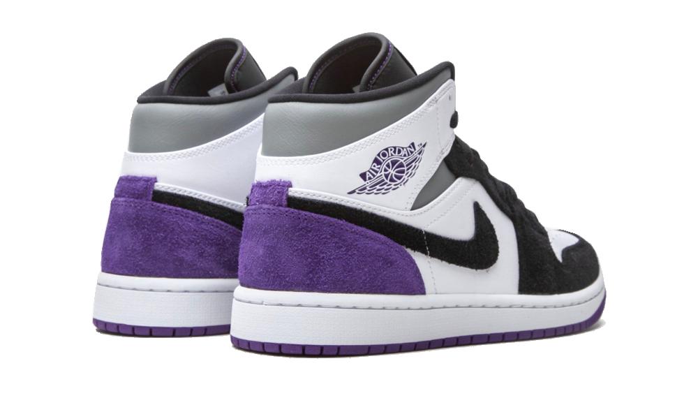 Air Jordan 1 Mid SE Purple - 852542-105 - Restocks