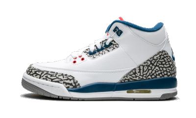 Air Jordan 3 Retro OG BG True Blue