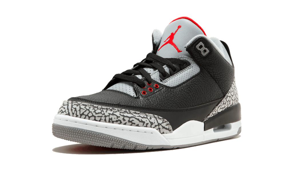 Air Jordan 3 Retro OG Black/Cement - 854262-001 - Restocks