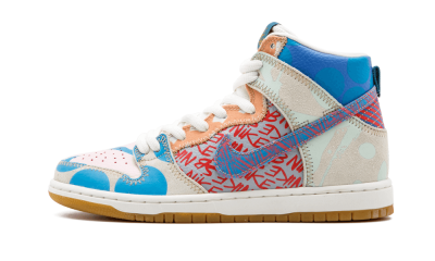 SB Zoom Dunk High PREM Thomas Campbell/What The Dunk 17