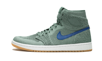 Air Jordan 1 Retro High Flyknit Clay Green