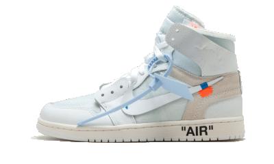 Air Jordan 1 Retro High Off-White ''White''