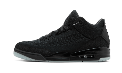 Air Jordan 3 Retro Flyknit Black Cat