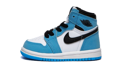 Air Jordan 1 Retro High White University Blue Black (TD)