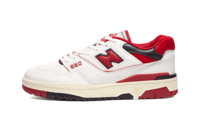 New Balance 550 Aime Leon Dore White Red