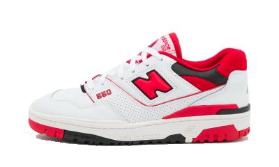 New Balance 550 White Red