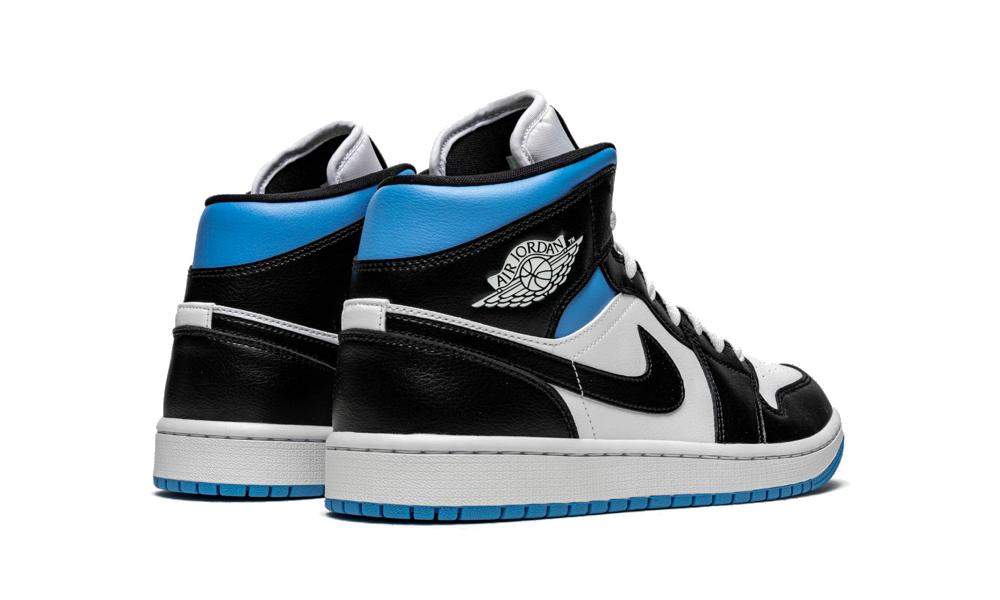 Air Jordan 1 Mid Royal Black and Blue (W) - BQ6472-102 - Restocks