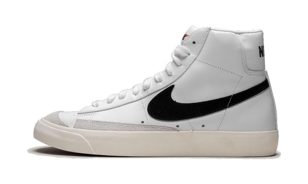 Nike Blazer Mid 77 Vintage White Black - BQ6806-100 - Restocks