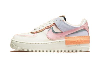 Nike Air Force 1 Low Sail Orange Chalk