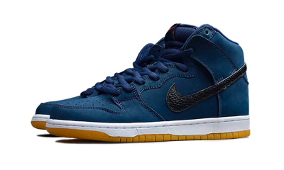 Nike Dunk High Pro ISO SB 'Orange Label - Midnight Navy'
