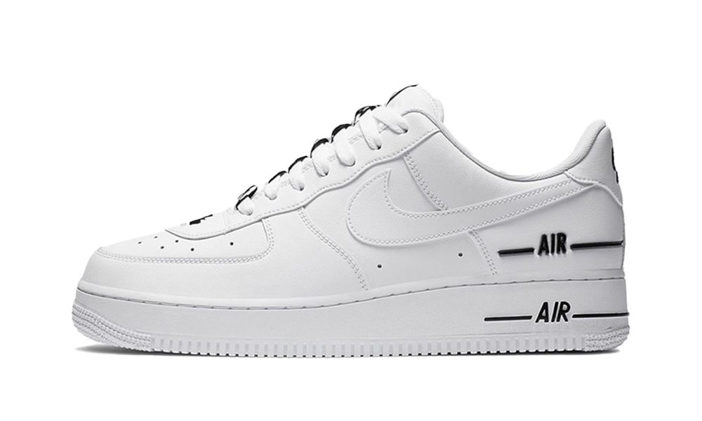Nike Air Force 1 Low Double Air Low White Black - CJ1379-100 ...