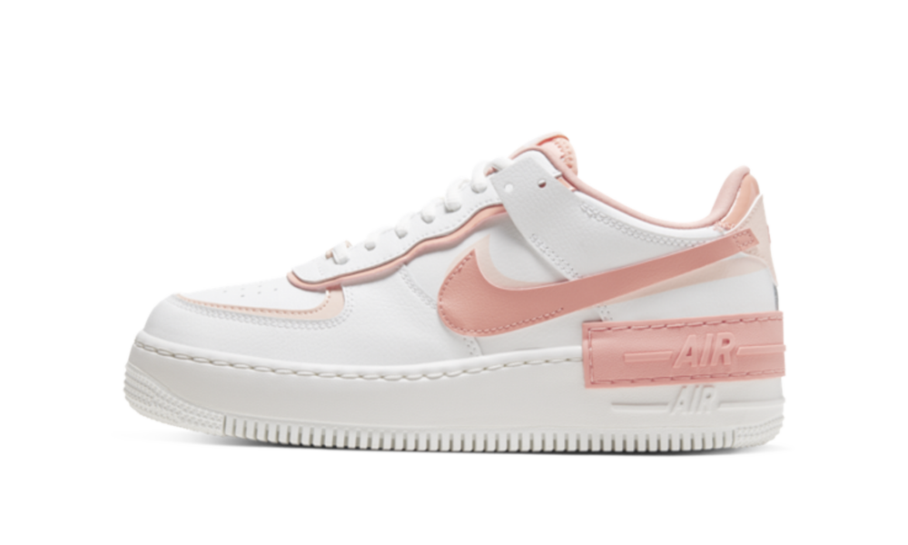 Nike Air Force 1 Shadow White Coral Pink W Cj1641 101 Restocks Nike air force shadow x kleur. nike air force 1 shadow white coral