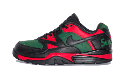 Nike Cross Trainer Low Supreme Black Green Red