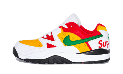 Nike Cross Trainer Low Supreme White Yellow Red