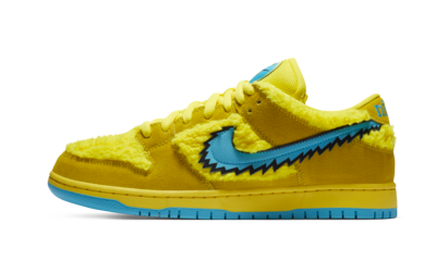 Nike SB Dunk Low Grateful Dead Bears Yellow